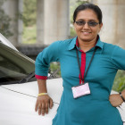 Azad Foundation India-women cab driver