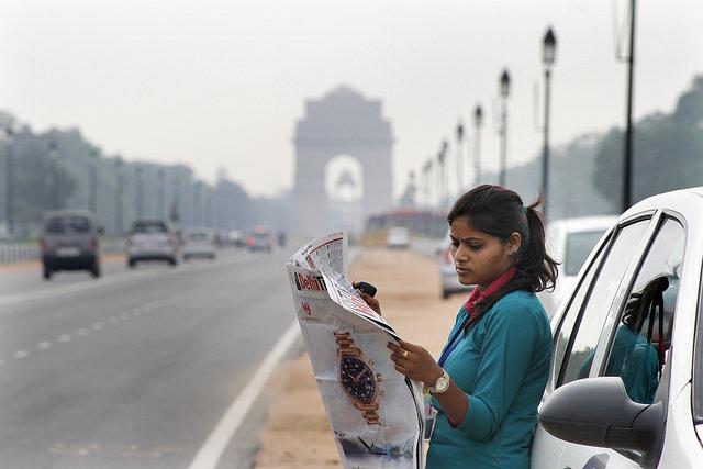 Azad Foundation India- women cab driver