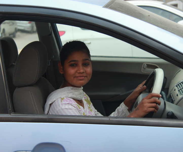 Azad Foundation India women driver training