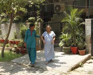 Azad Foundation India women driver escorting passenger