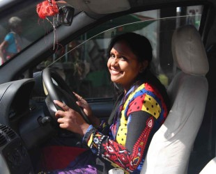 Azad Foundation India women driver