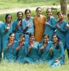 Azad Foundation India independent women drivers posing happily