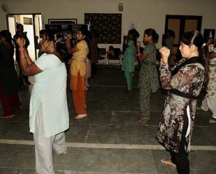 Azad Foundation India women driver self defence training